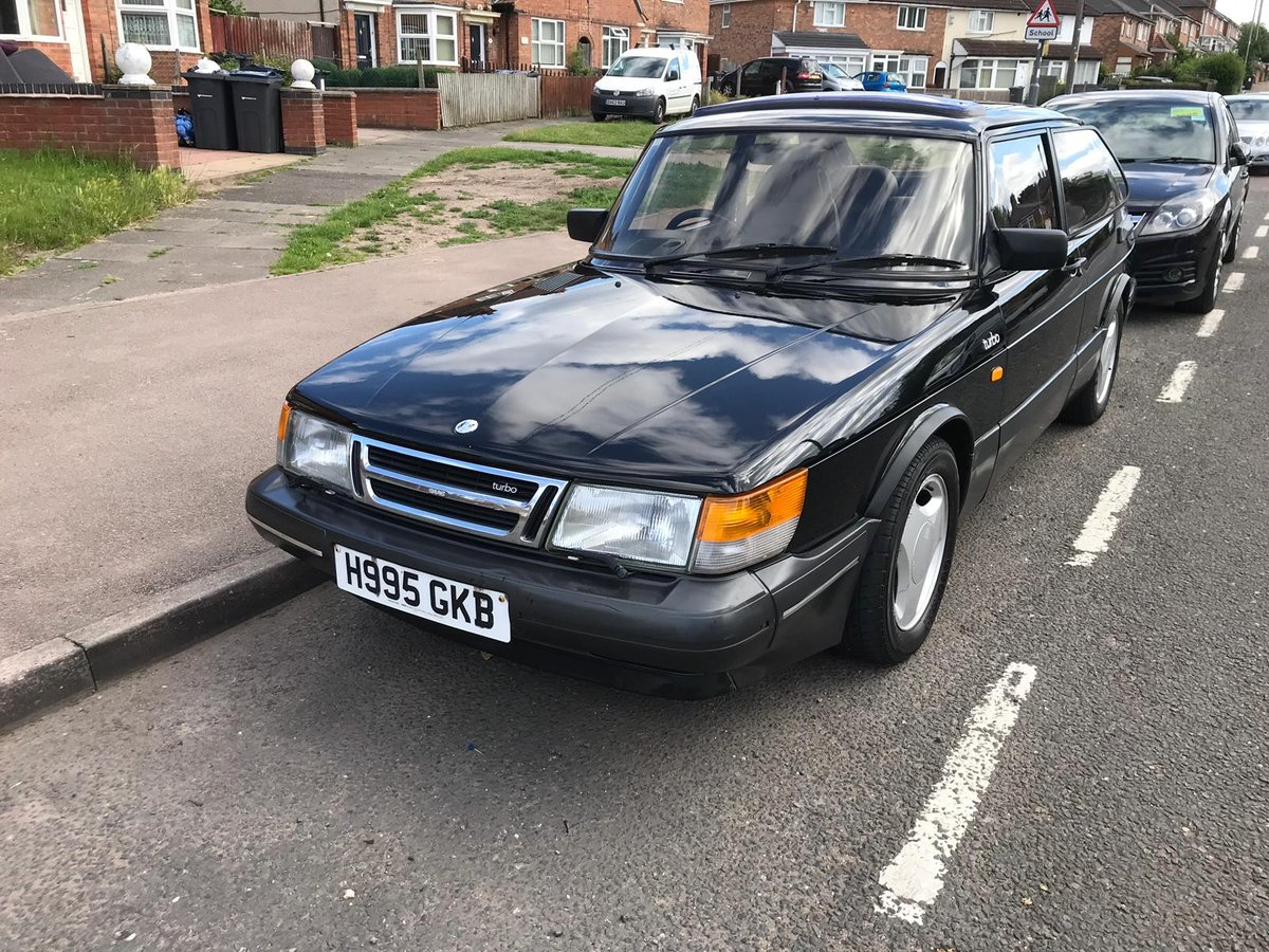 1990 Saab 900 FPT For Sale (picture 1 of 6)