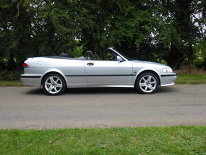 2002 Saab 93 Turbo SE Convertible 185bhp Superb Order 17 Services