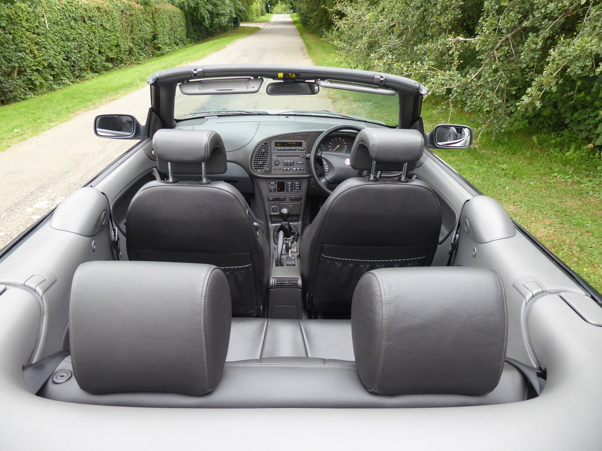 2002 Saab 93 Turbo SE Convertible 185bhp Superb Order 17 Services For Sale (picture 5 of 6)