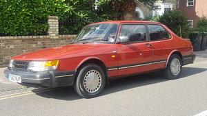 1989 Saab 900I Auto 2 door last Owner 23 Years For Sale