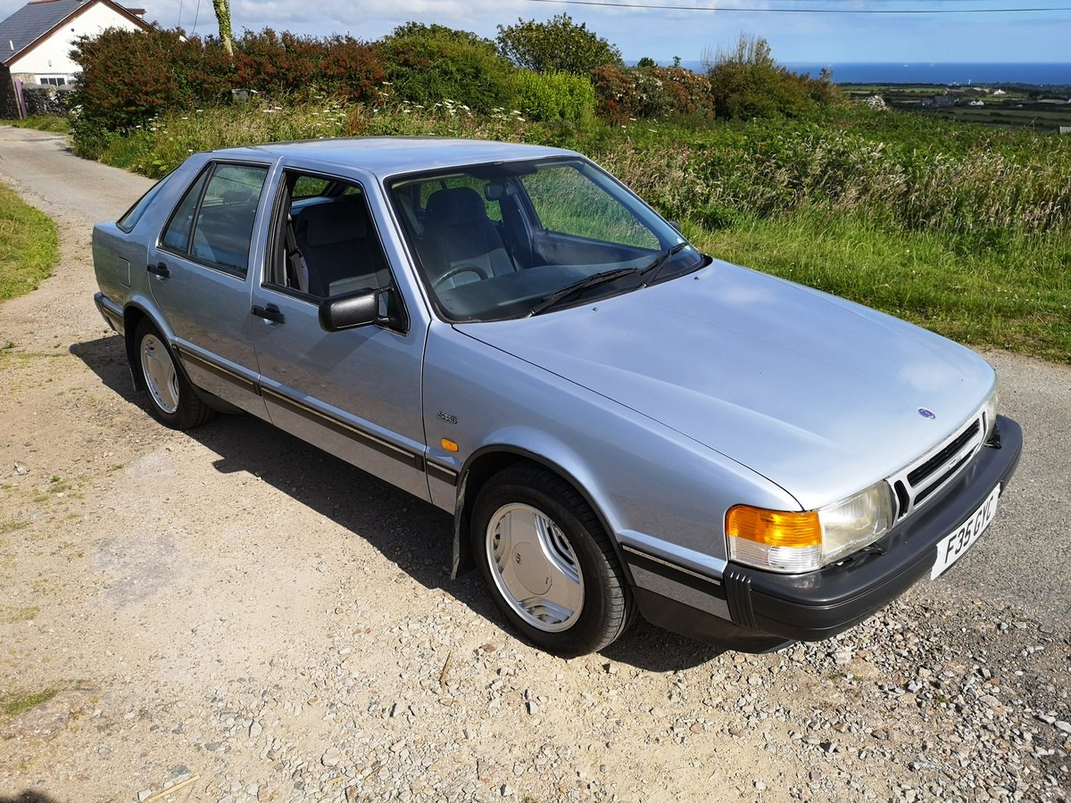 1989 SAAB 9000i  AUTO - LOW MILEAGE - NOW SOLD ! SOLD (picture 1 of 6)