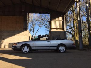 1989 Saab 900 T16 Convertible For Sale