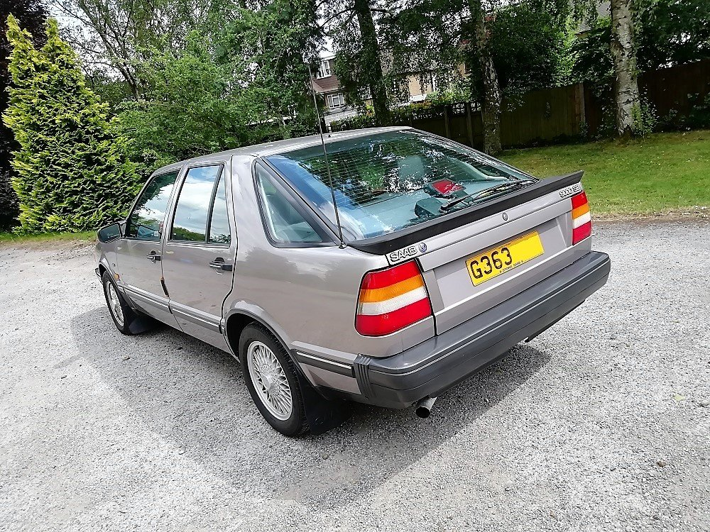 1990 Saab 9000 SE Mk1 2.0 Turbo Auto, VGC, Very Rare! For Sale (picture 5 of 6)