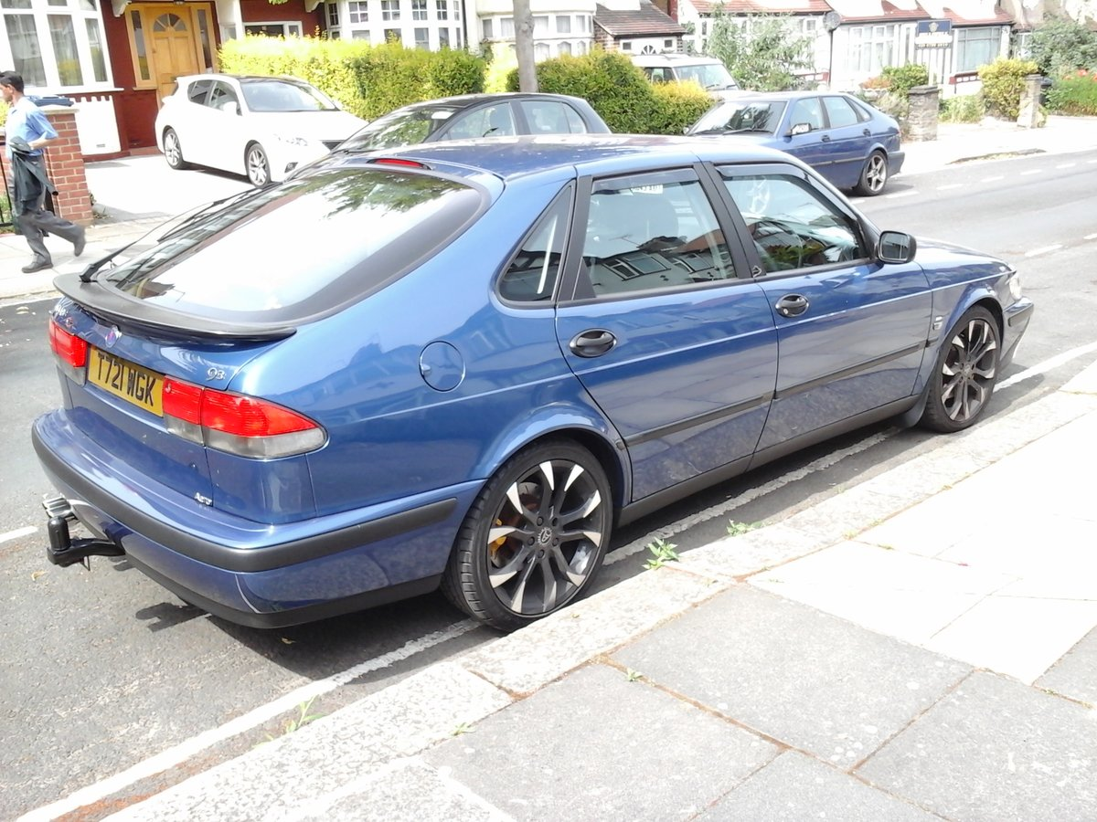 1999 Really mint clean saab 9-3 turbo b204 engine For Sale (picture 1 of 5)
