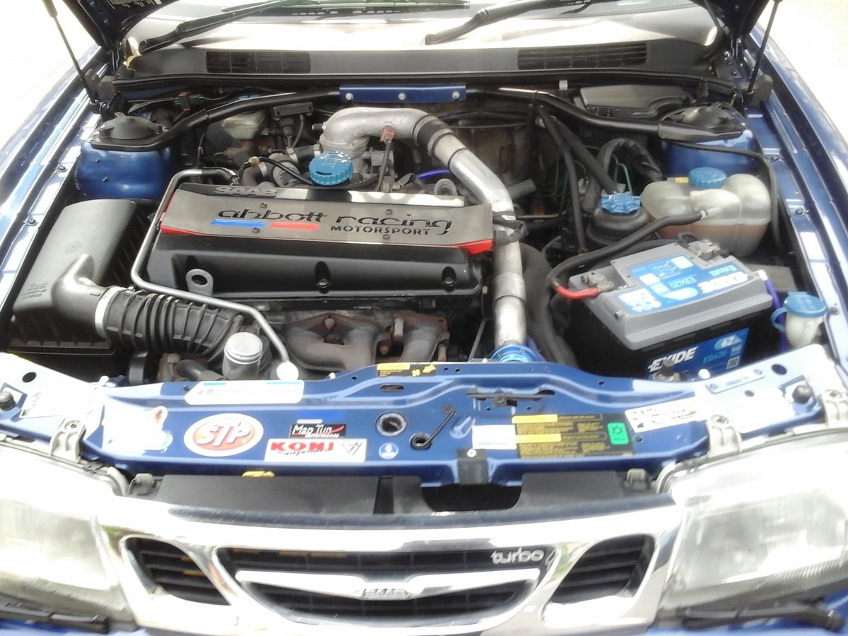 1999 Really mint clean saab 9-3 turbo b204 engine For Sale (picture 2 of 5)