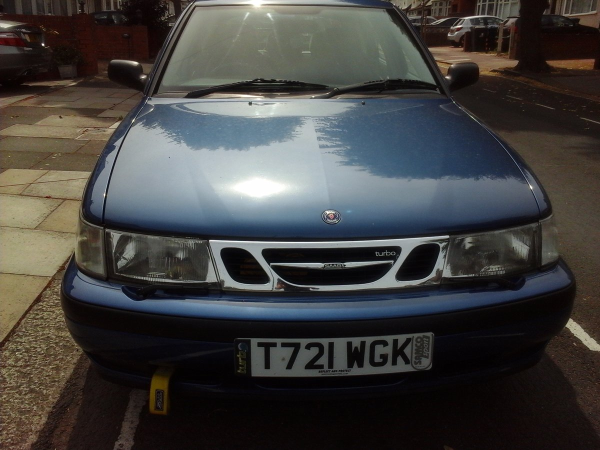 1999 Really mint clean saab 9-3 turbo b204 engine For Sale (picture 3 of 5)