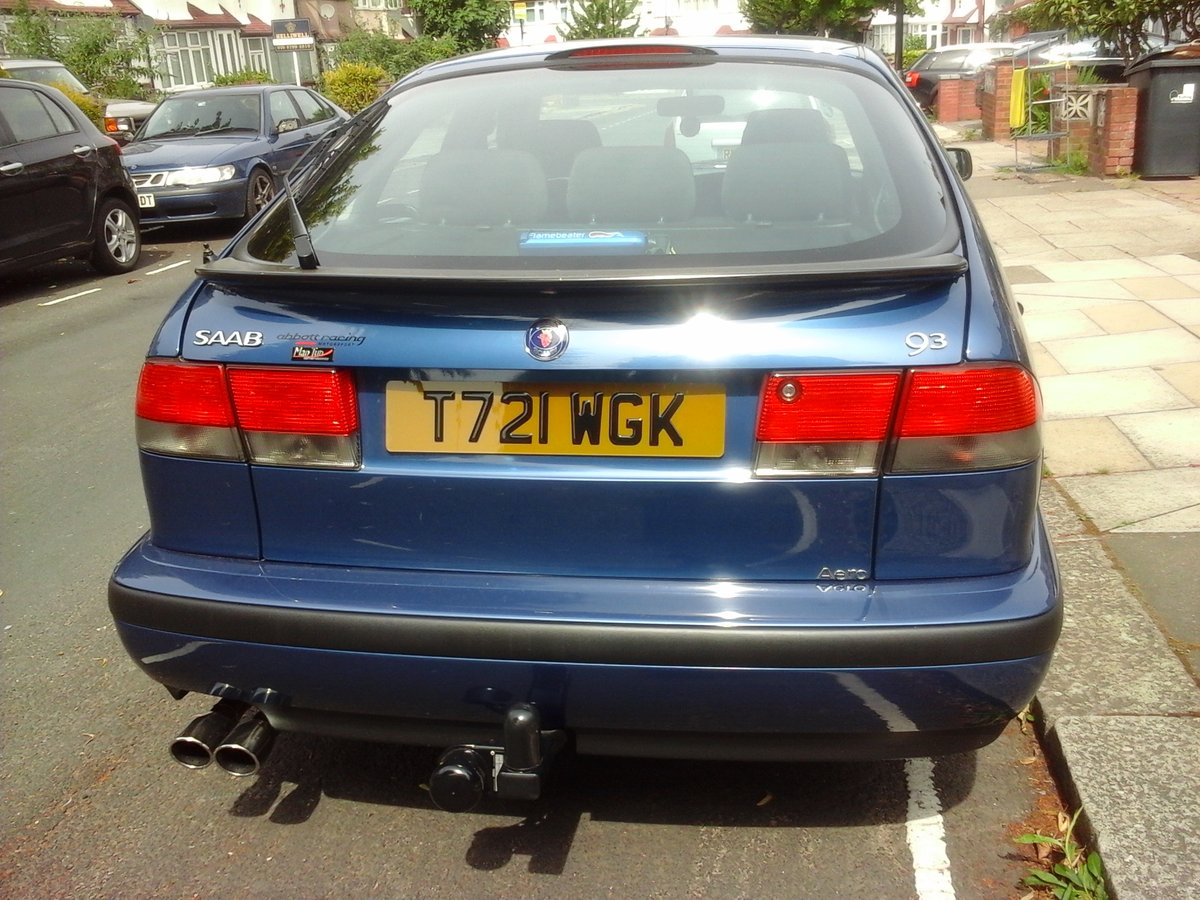 1999 Really mint clean saab 9-3 turbo b204 engine For Sale (picture 4 of 5)