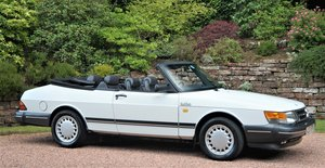 1987 SAAB 900 TURBO 16 VALVE CONVERTIBLE - 84000 MILES For Sale