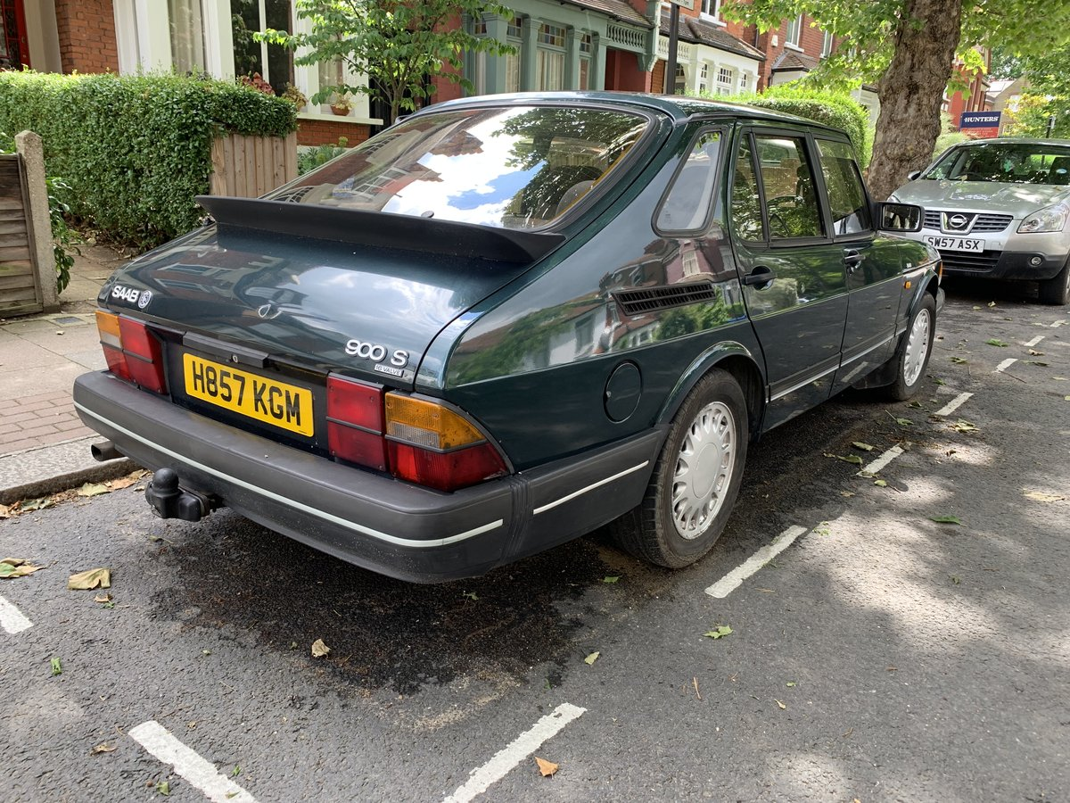 1990 SAAB 900 s lpt 5door 4K Just spent. For Sale (picture 6 of 6)