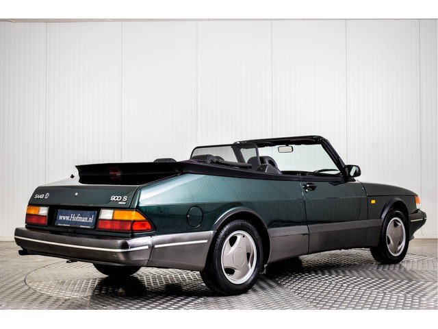 1993 Saab 900 Classic Convertible Turbo For Sale (picture 2 of 6)