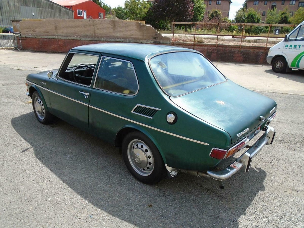 SAAB 99 1850 AUTOMATIC LHD 2DR(1971) MET GREEN 1 OWNER!  For Sale (picture 2 of 6)