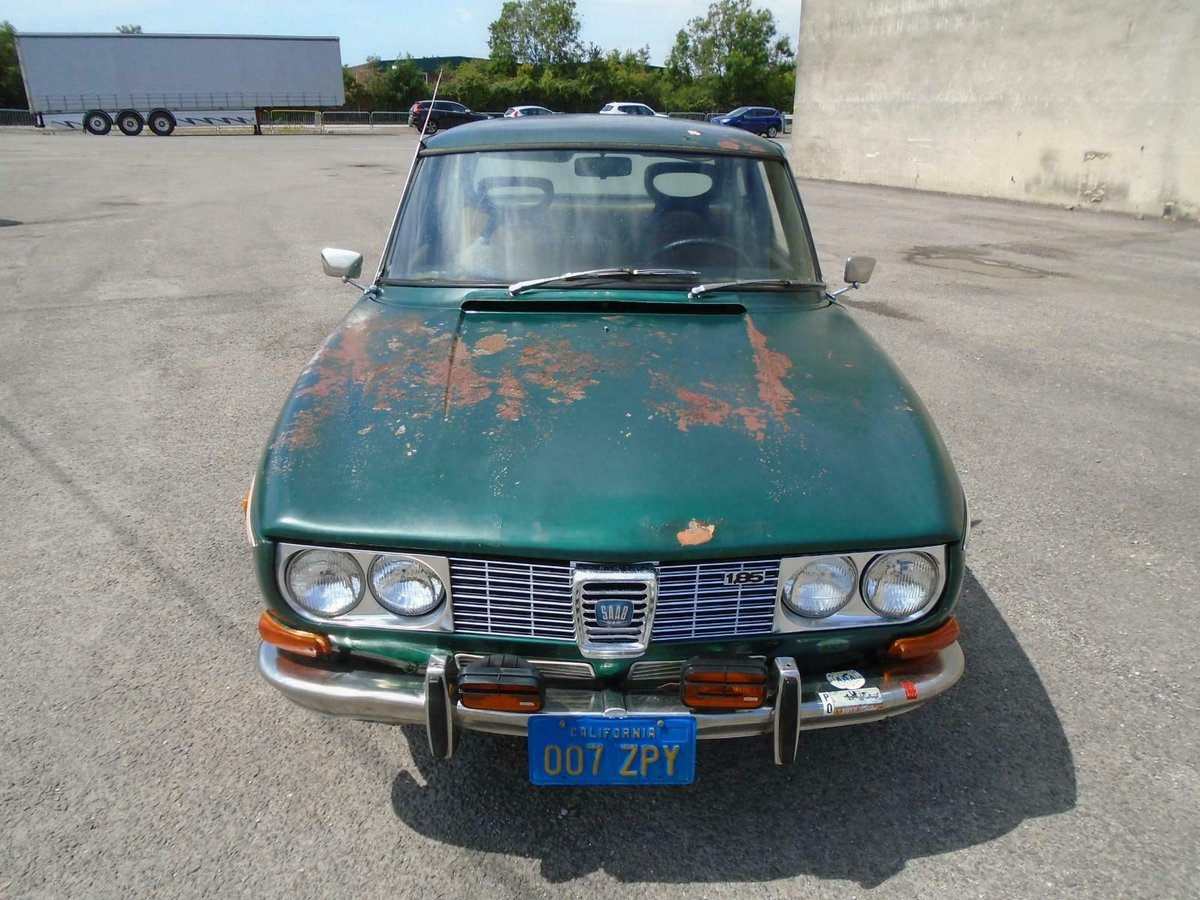 SAAB 99 1850 AUTOMATIC LHD 2DR(1971) MET GREEN 1 OWNER!  For Sale (picture 3 of 6)