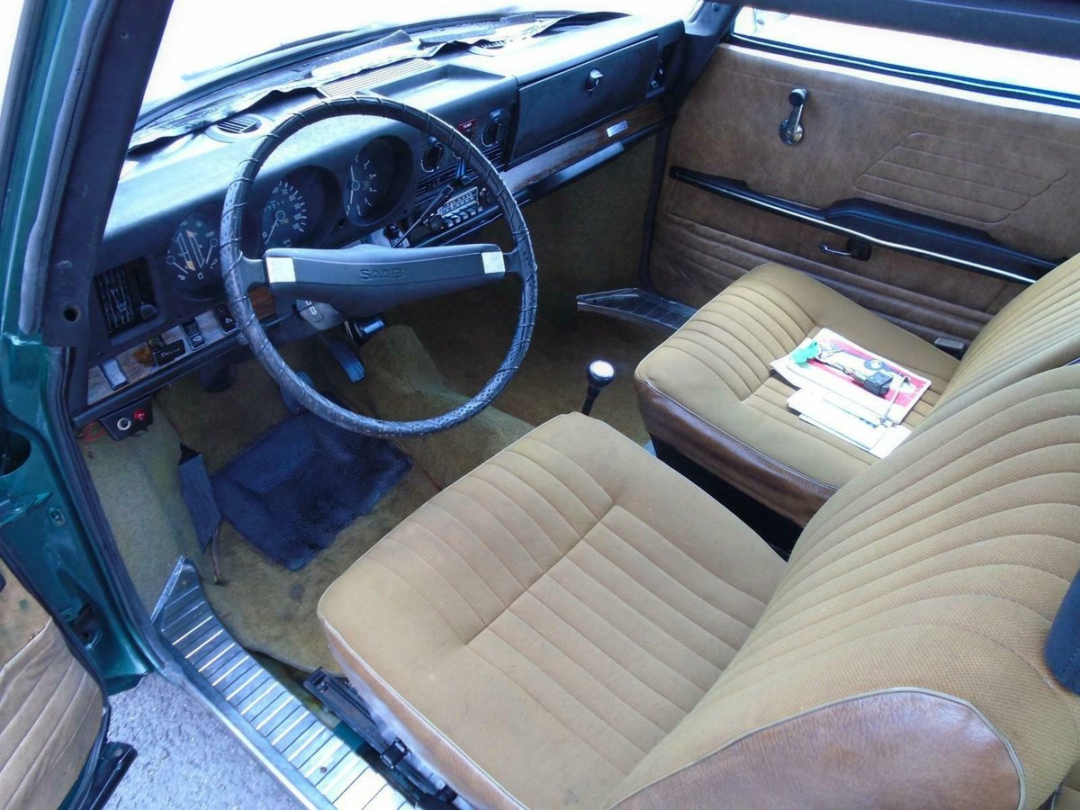 SAAB 99 1850 AUTOMATIC LHD 2DR(1971) MET GREEN 1 OWNER!  For Sale (picture 5 of 6)