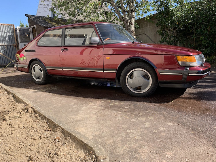 1993 Saab c900 ruby - back in the UK For Sale (picture 1 of 6)
