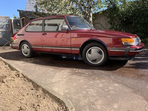 1993 Saab c900 ruby - back in the UK For Sale