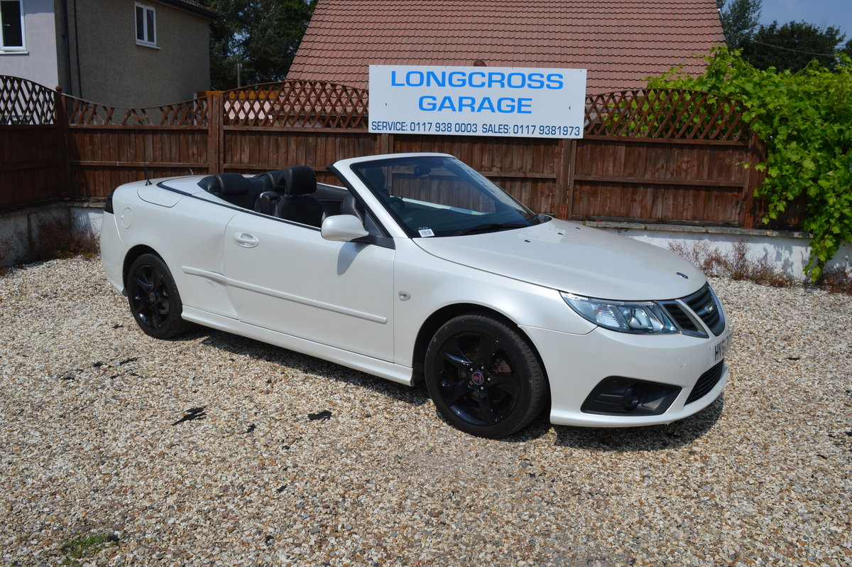 2011 SAAB 9-3 1.9 TTID CONVERTIBLE AUTOMATIC For Sale (picture 1 of 6)