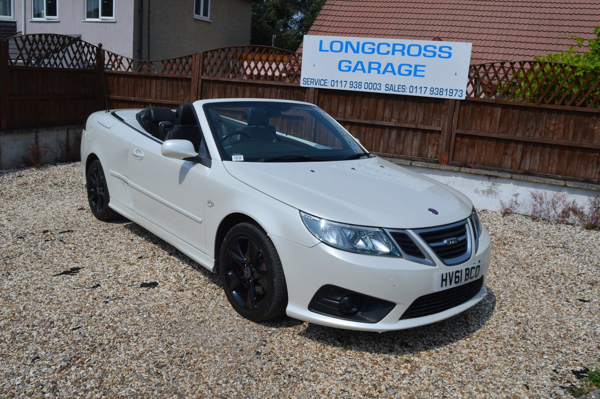 2011 SAAB 9-3 1.9 TTID CONVERTIBLE AUTOMATIC For Sale (picture 2 of 6)