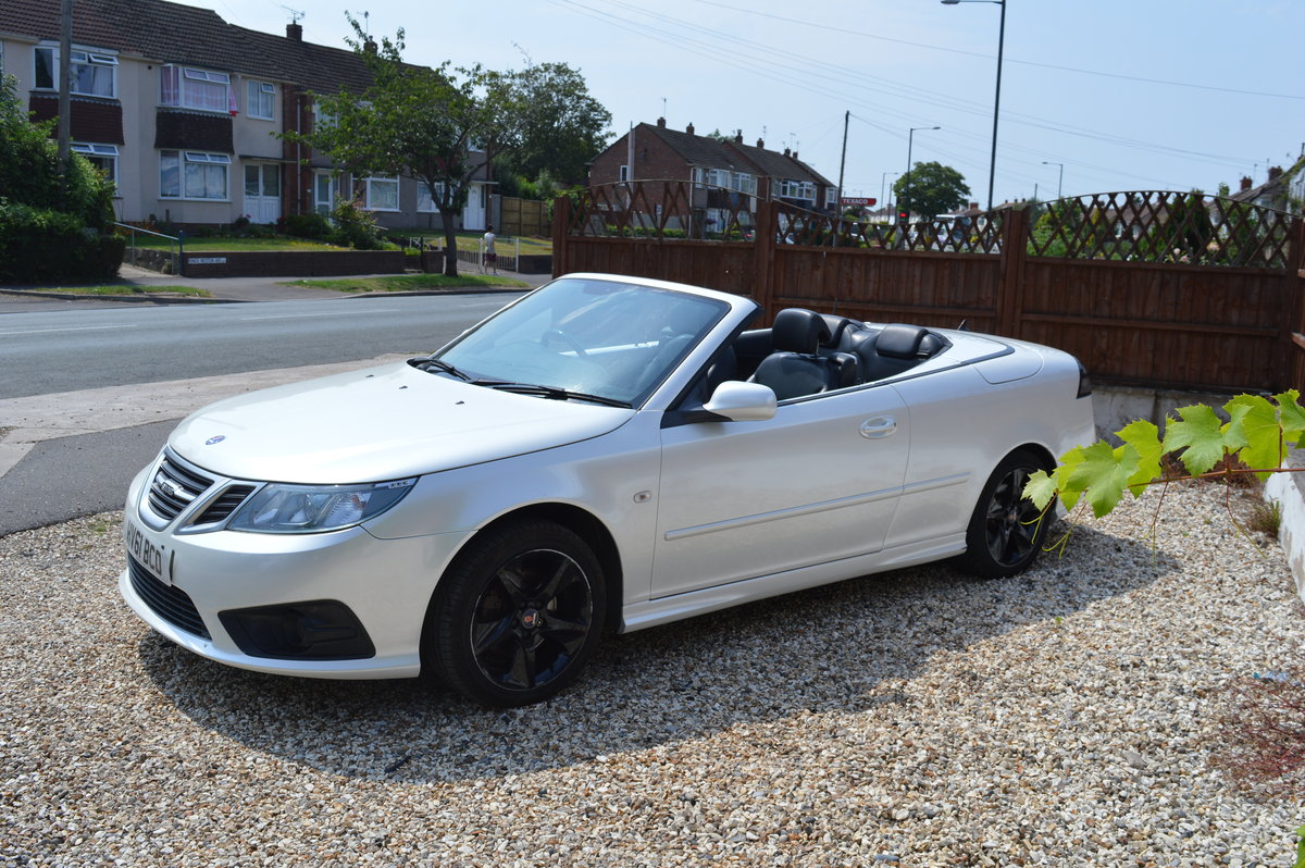 2011 SAAB 9-3 1.9 TTID CONVERTIBLE AUTOMATIC For Sale (picture 4 of 6)