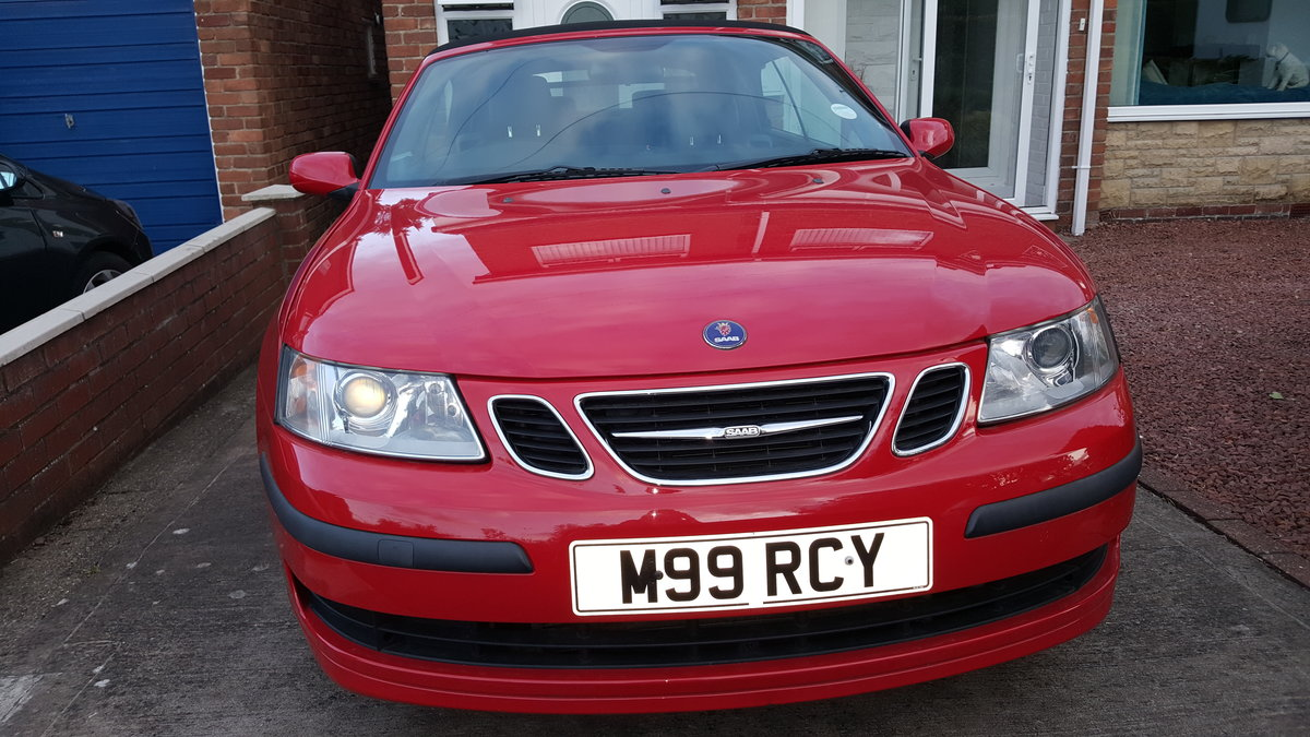 2007 SAAB 93 Linear Convertible 1.8 turbo auto  For Sale (picture 1 of 6)