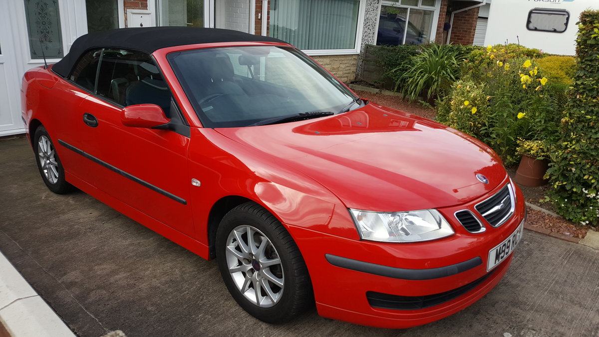 2007 SAAB 93 Linear Convertible 1.8 turbo auto  For Sale (picture 3 of 6)