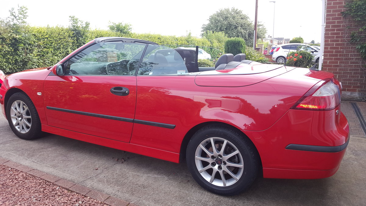 2007 SAAB 93 Linear Convertible 1.8 turbo auto  For Sale (picture 5 of 6)