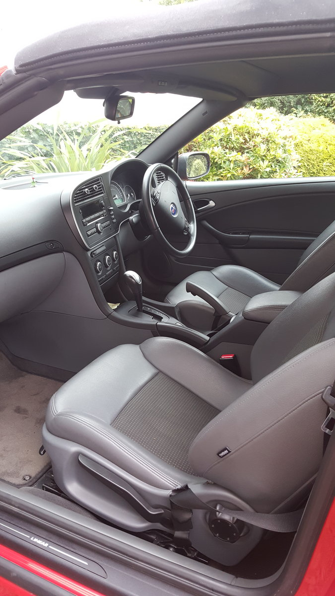 2007 SAAB 93 Linear Convertible 1.8 turbo auto  For Sale (picture 6 of 6)