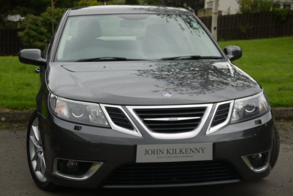 2010 SAAB 9-3 1.9 AERO TTID 180BHP **TRULY STUNNING** ONLY 55000  For Sale (picture 1 of 6)