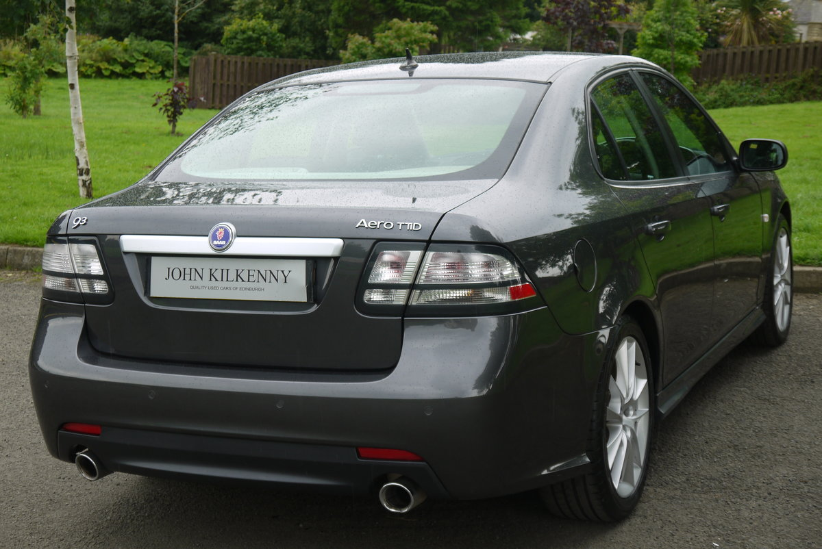 2010 SAAB 9-3 1.9 AERO TTID 180BHP **TRULY STUNNING** ONLY 55000  For Sale (picture 4 of 6)