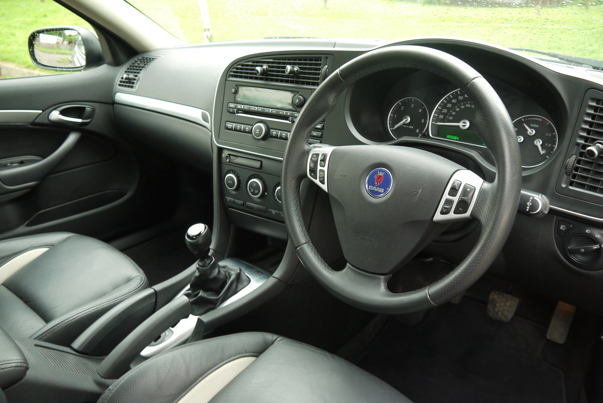2010 SAAB 9-3 1.9 AERO TTID 180BHP **TRULY STUNNING** ONLY 55000  For Sale (picture 6 of 6)