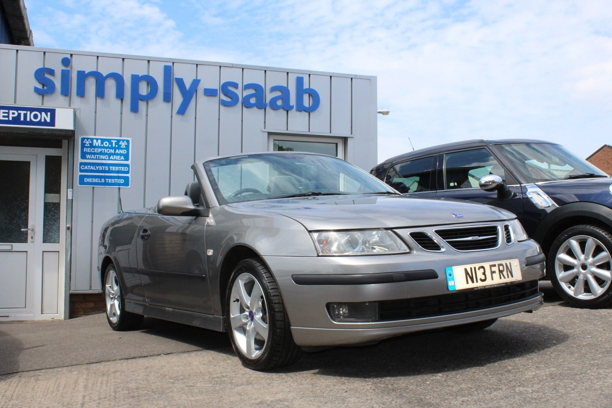 2006 Lovely Petrol 9-3 Vector Convertible SOLD (picture 1 of 6)