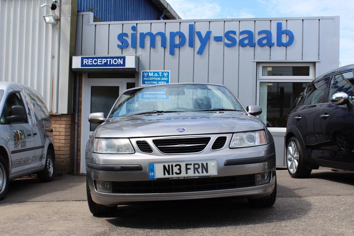 2006 Lovely Petrol 9-3 Vector Convertible SOLD (picture 2 of 6)