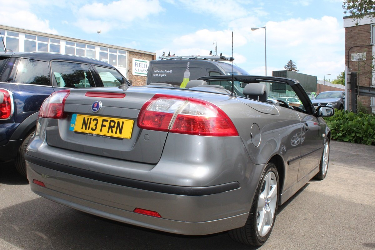 2006 Lovely Petrol 9-3 Vector Convertible SOLD (picture 3 of 6)