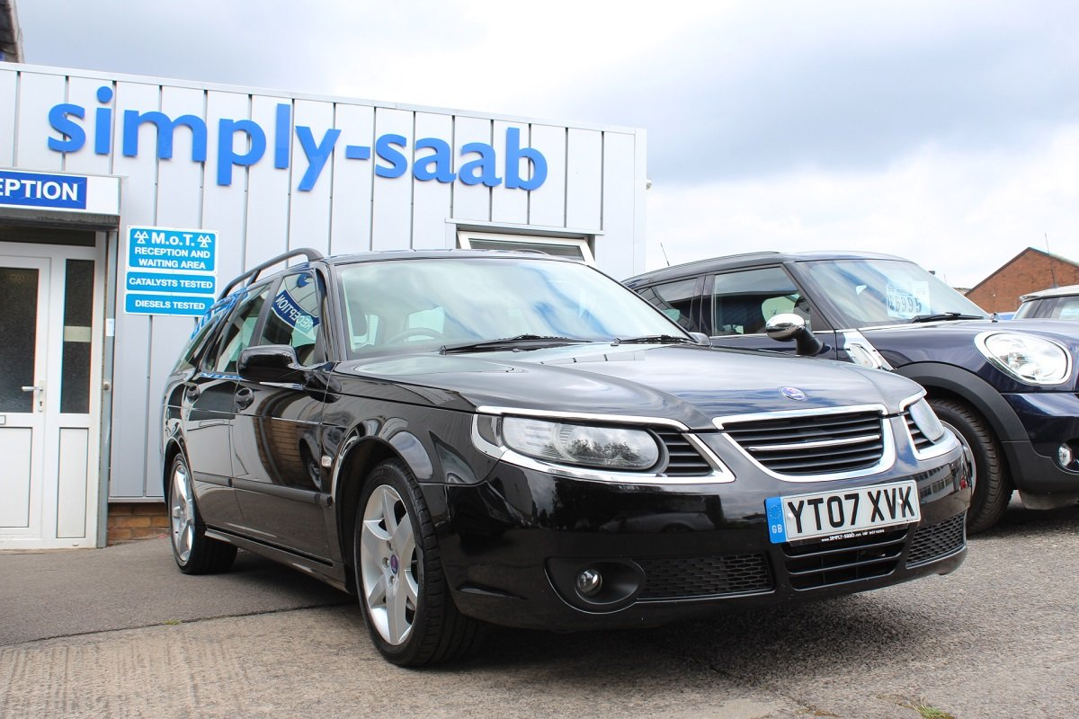 2007 Saab 9-5 Linear Sport Auto Turbo Edition SOLD (picture 1 of 6)