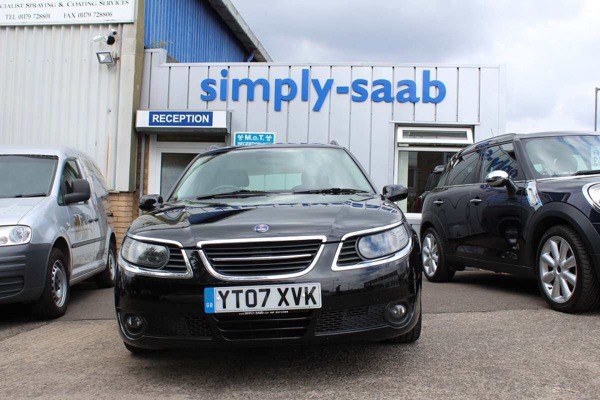 2007 Saab 9-5 Linear Sport Auto Turbo Edition SOLD (picture 2 of 6)