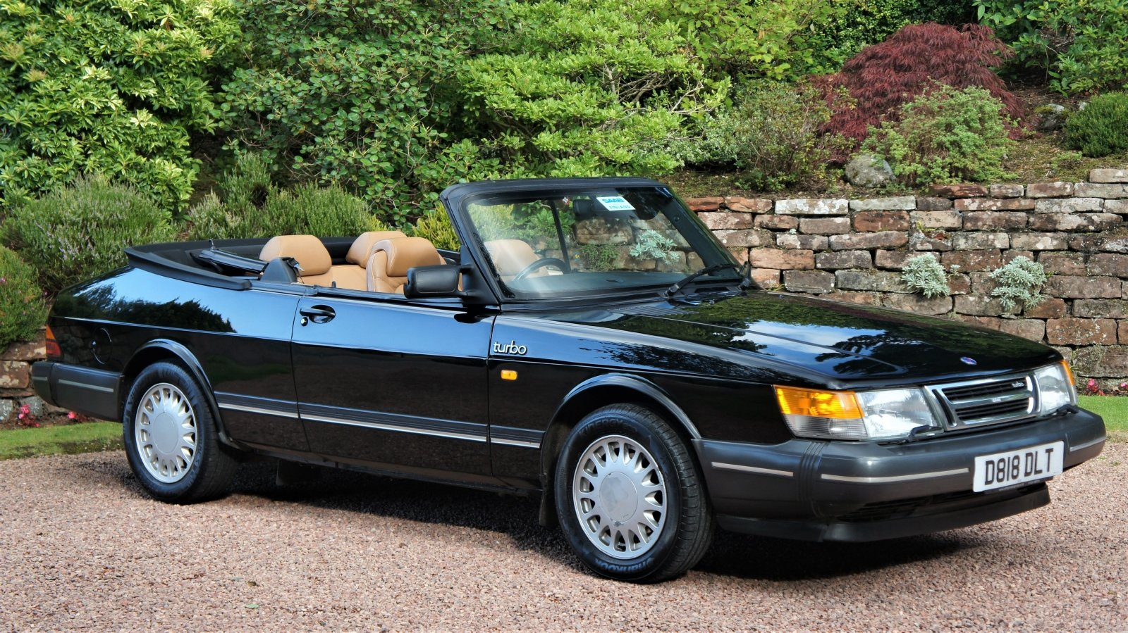 1987 SAAB 900 16 VALVE TURBO CONVERTIBLE - 74000 MILES For Sale (picture 1 of 6)