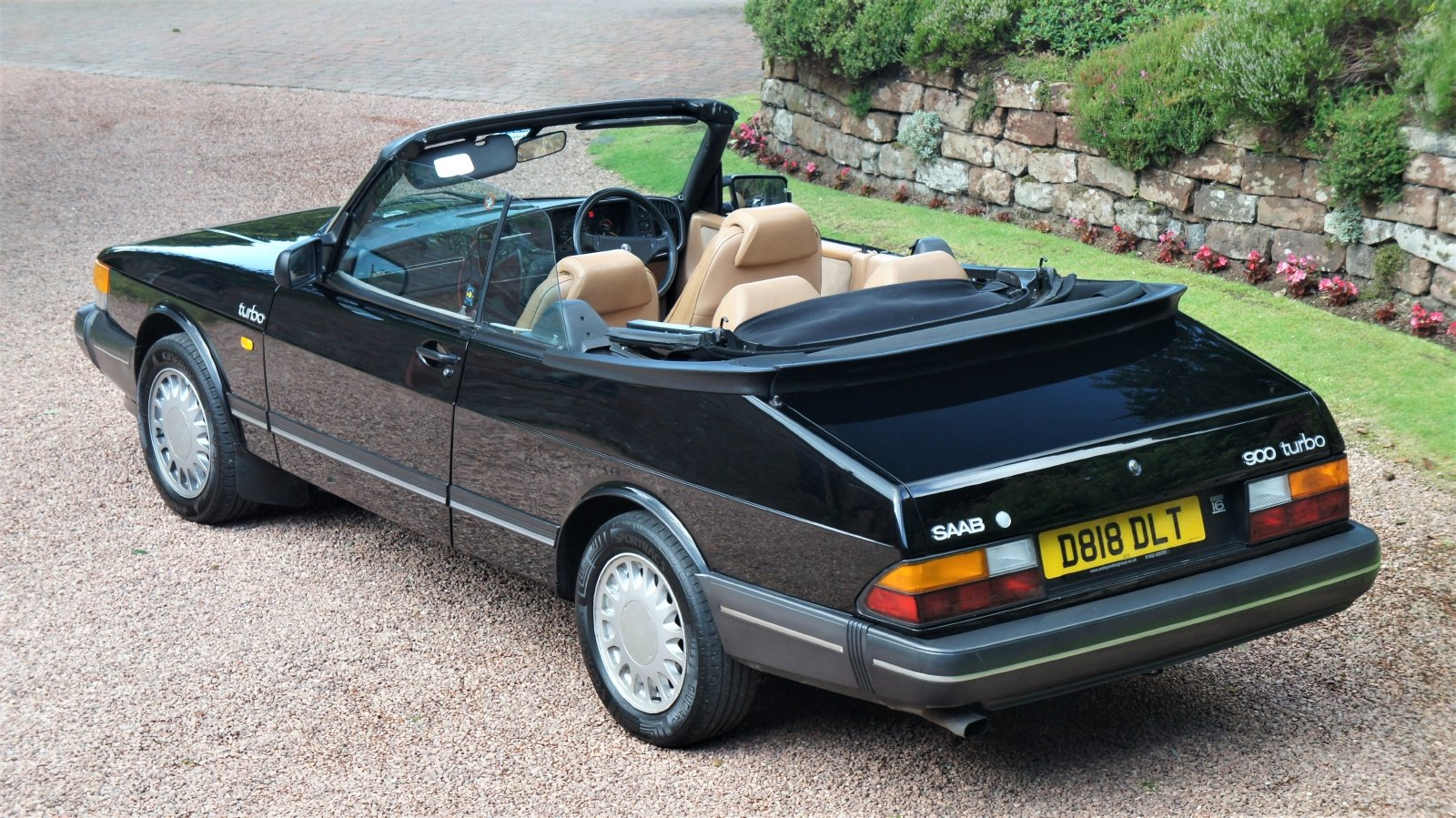 1987 SAAB 900 16 VALVE TURBO CONVERTIBLE - 74000 MILES For Sale (picture 2 of 6)