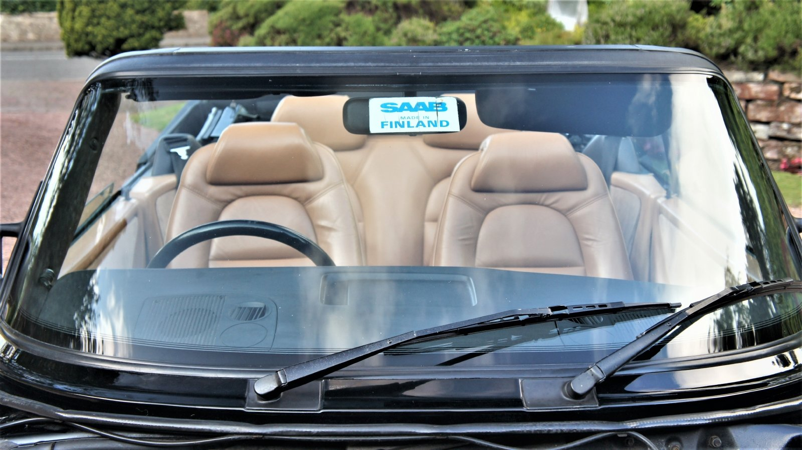 1987 SAAB 900 16 VALVE TURBO CONVERTIBLE - 74000 MILES SOLD (picture 5 of 6)
