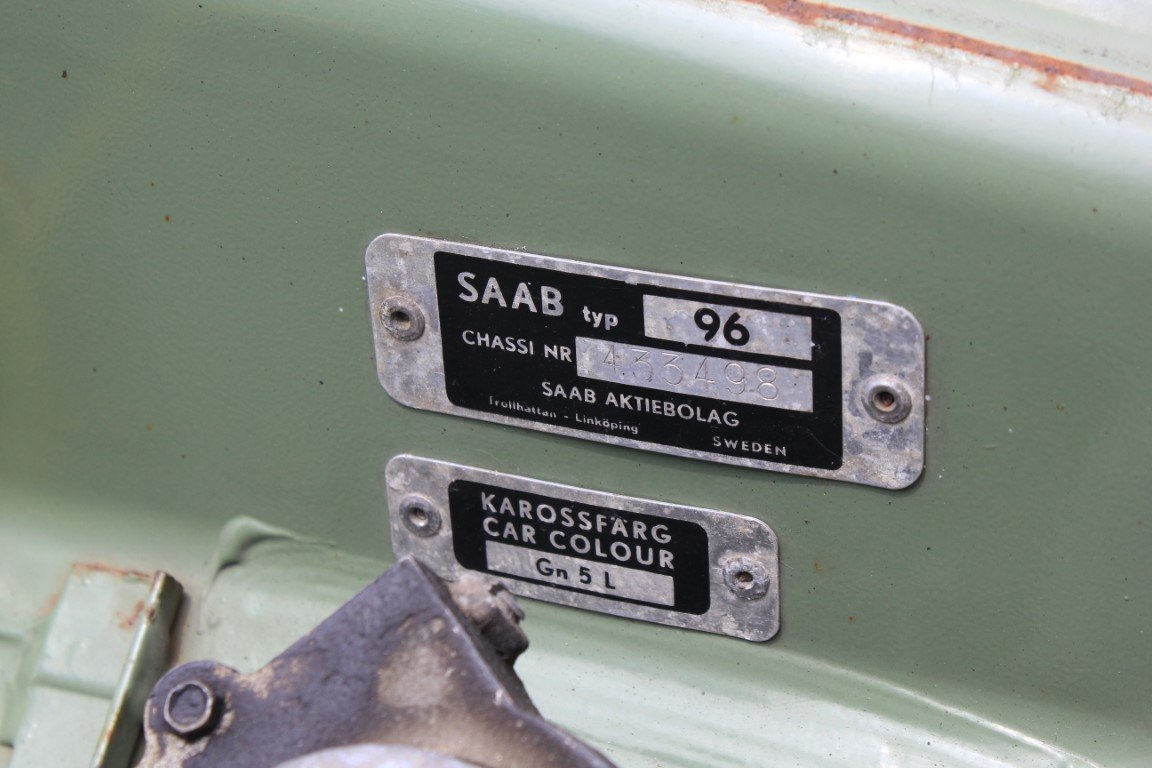 1967 Saab 96  For Sale (picture 6 of 6)