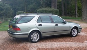 2001 Saab 9-5 V6 Turbo at Morris Leslie Auction 17th August SOLD by Auction