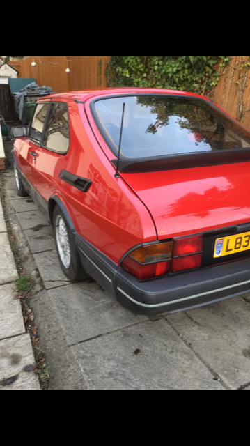 1993 Saab classic 900 i aero For Sale (picture 2 of 6)