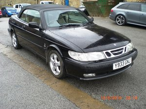 2001 Saab 9-3 SE Turbo Convertible