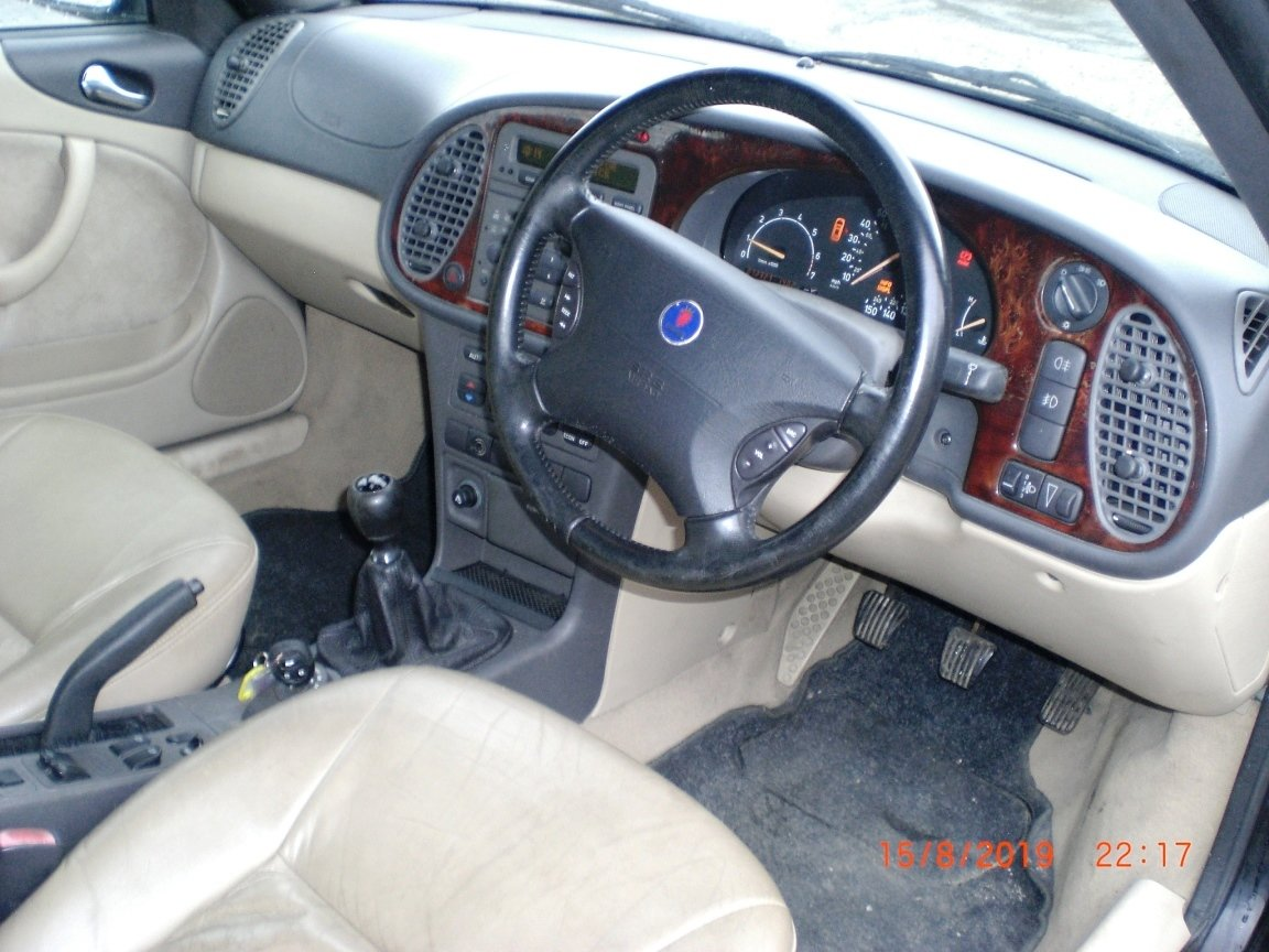 2001 Saab 9-3 SE Turbo Convertible For Sale (picture 6 of 6)