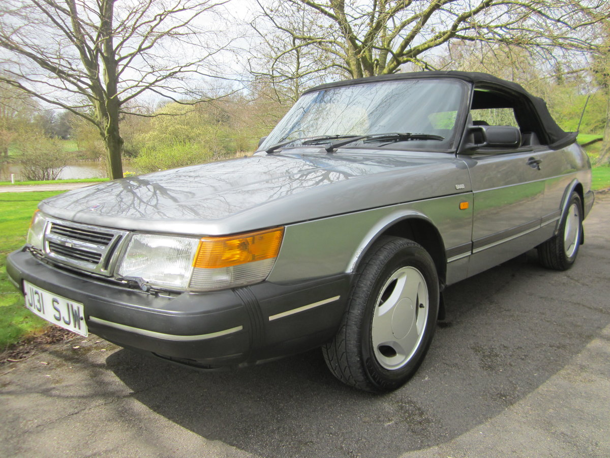 1991 SAAB 900I 16V CONVERTIBLE ~ USE & IMPROVEB ~BARGAIN TO CLEAR For Sale (picture 1 of 6)