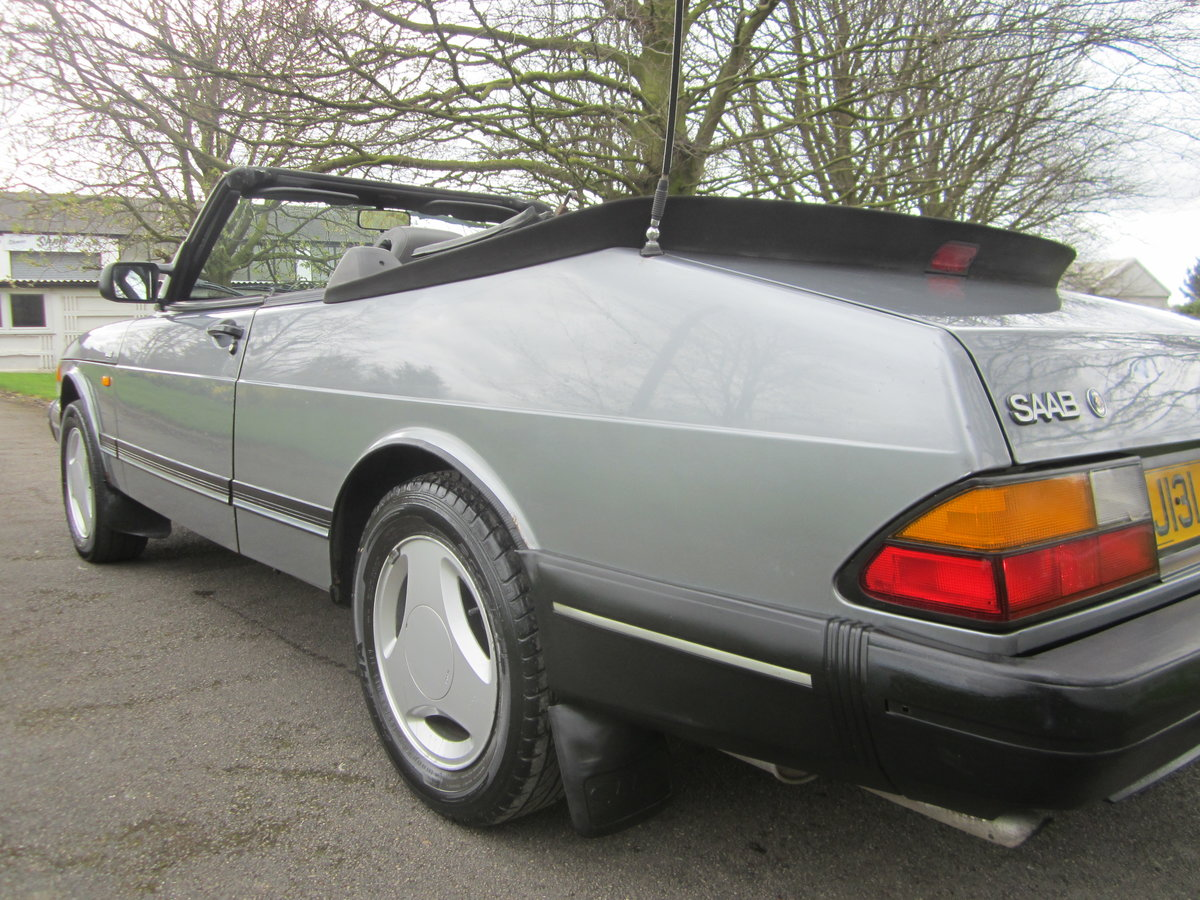 1991 SAAB 900I 16V CONVERTIBLE ~ USE & IMPROVEB ~BARGAIN TO CLEAR For Sale (picture 2 of 6)