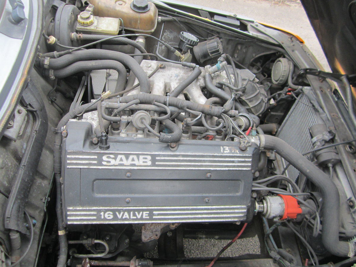 1991 SAAB 900I 16V CONVERTIBLE ~ USE & IMPROVEB ~BARGAIN TO CLEAR For Sale (picture 6 of 6)