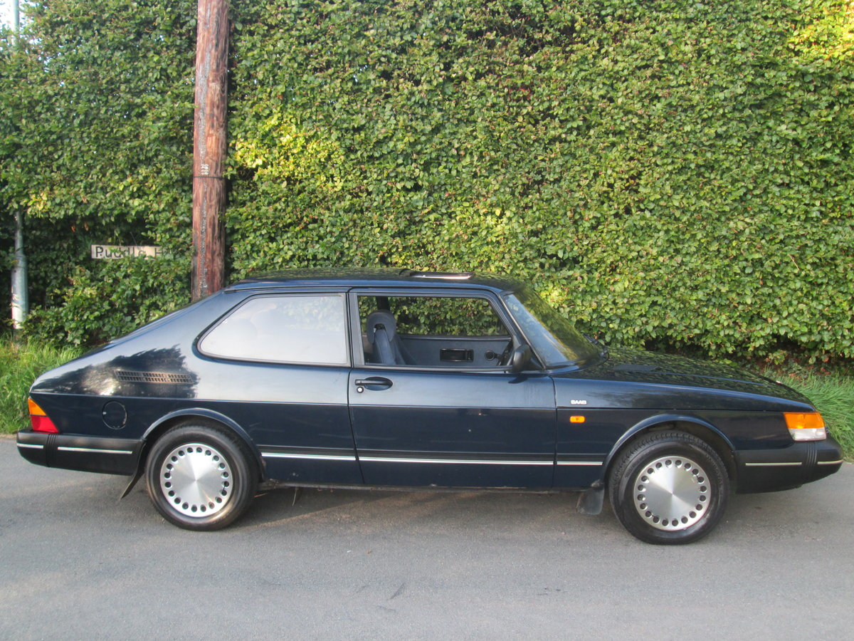 1989 One owner saab 900i all the history For Sale (picture 6 of 6)