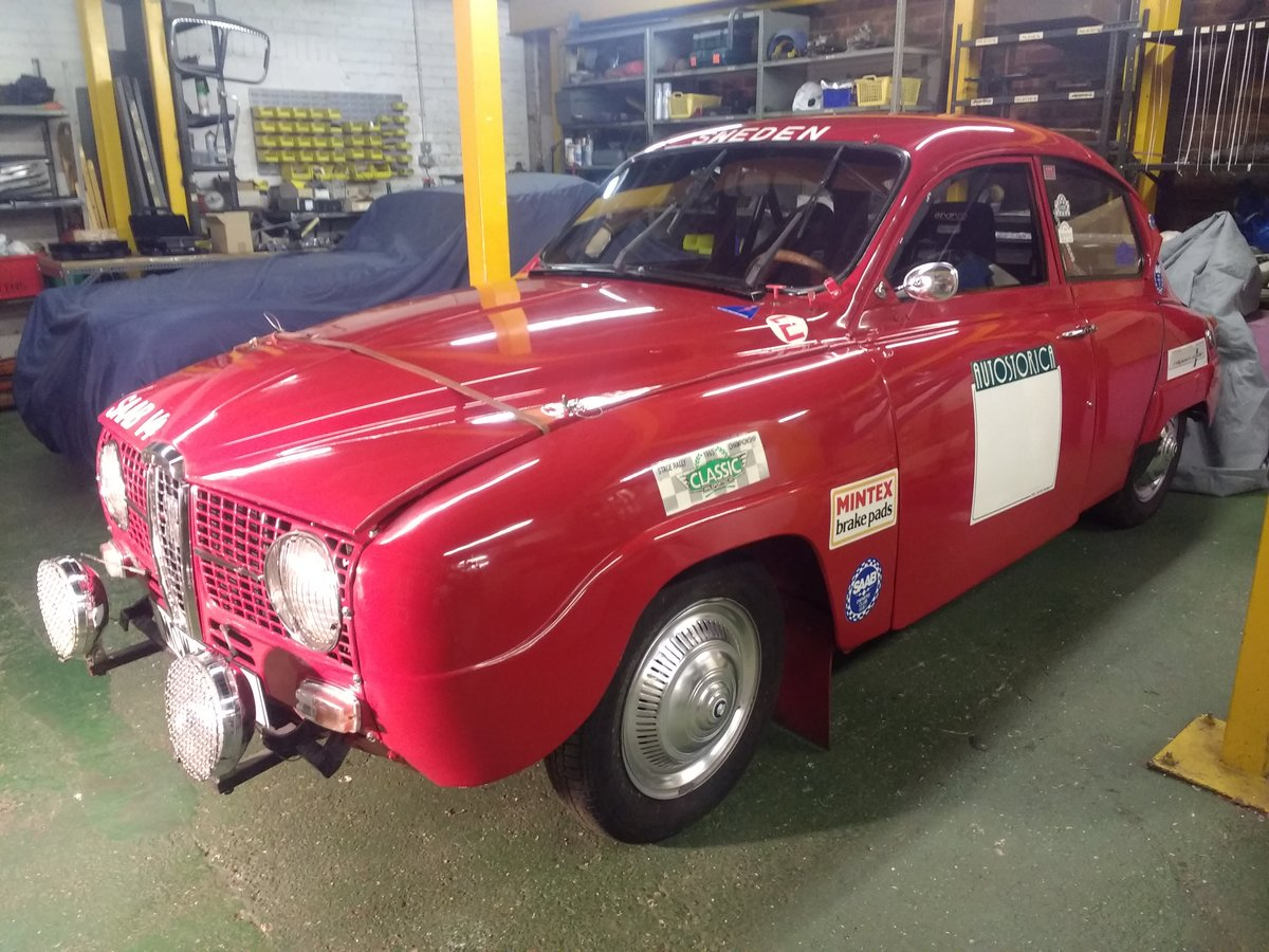 1971 Saab 96 V4  Restored historic rally  For Sale (picture 1 of 6)