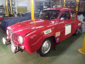 1971 Saab 96 V4  Restored historic rally