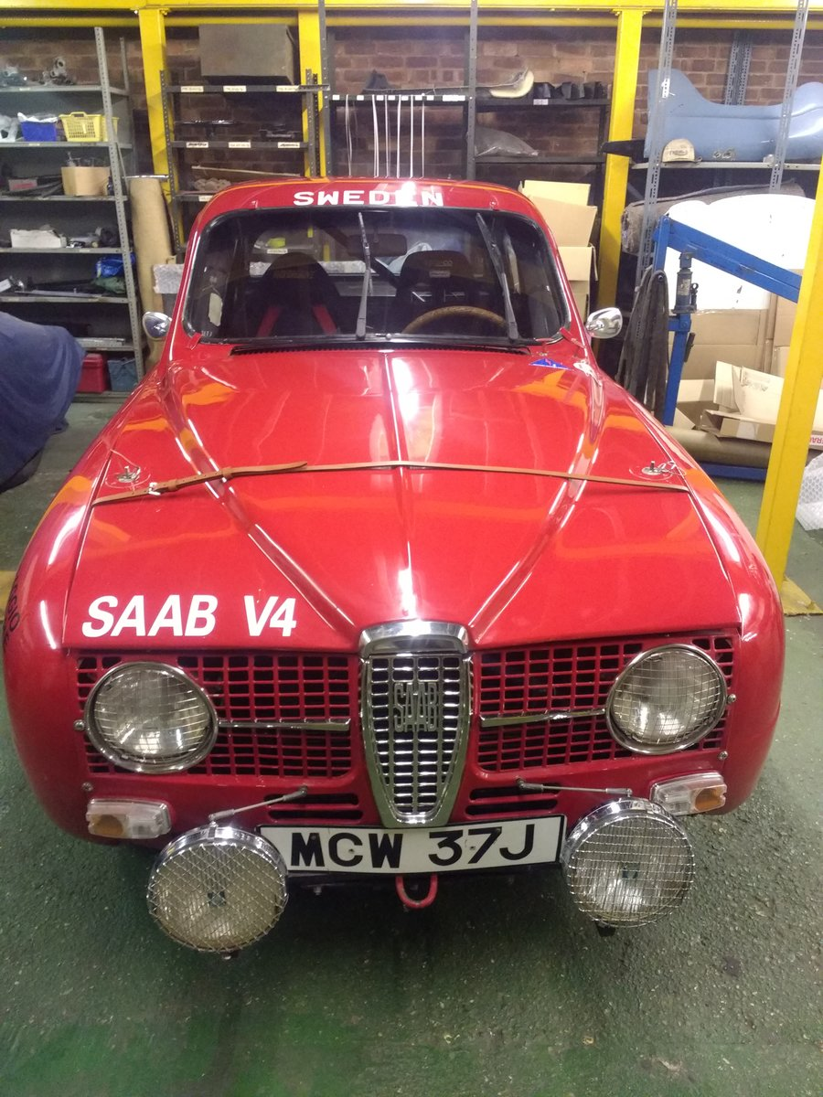 1971 Saab 96 V4  Restored historic rally  For Sale (picture 2 of 6)