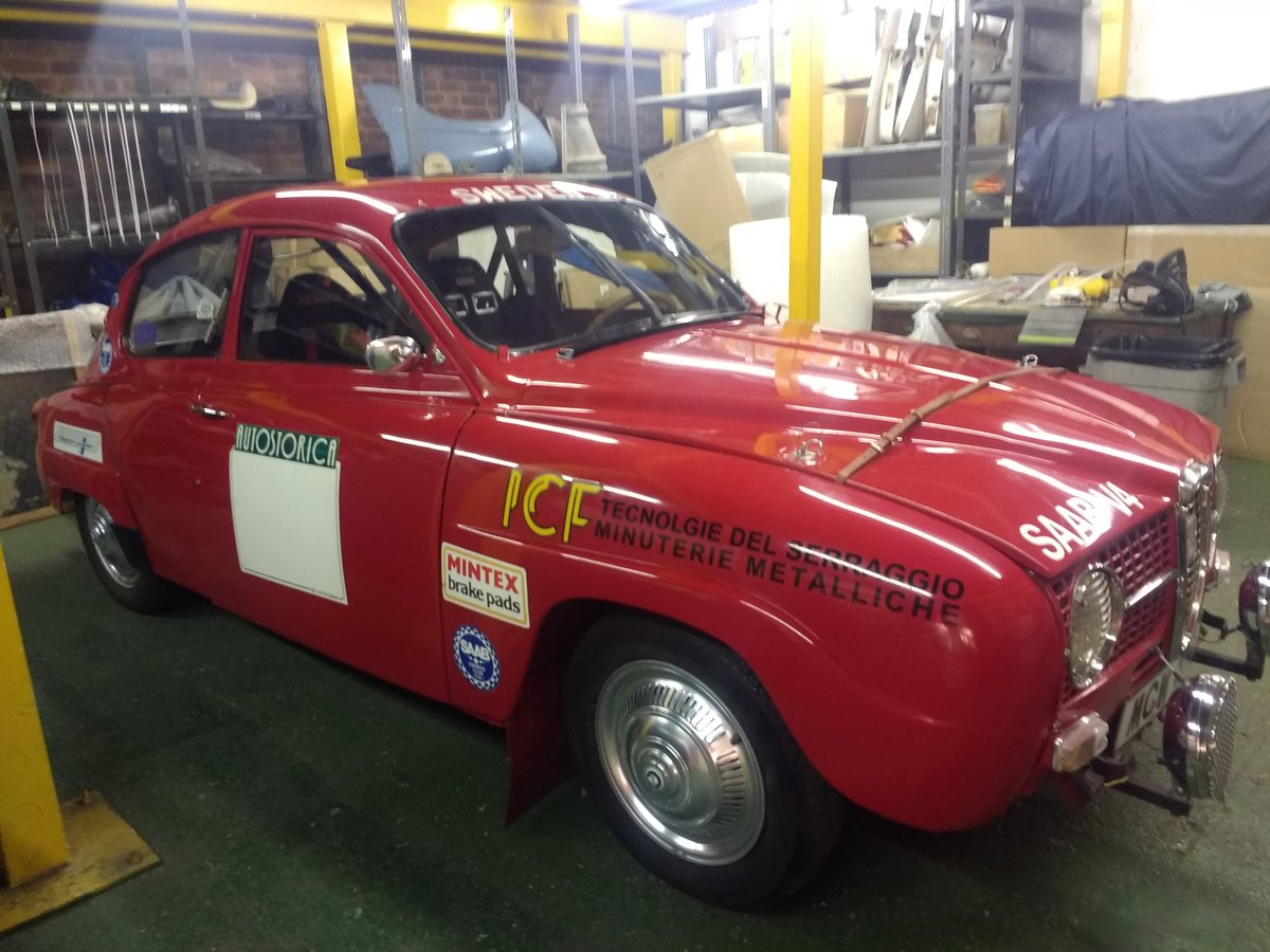 1971 Saab 96 V4  Restored historic rally  For Sale (picture 3 of 6)